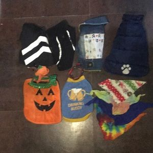 Other - Lot of tiny dog clothes and accessories
